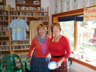 Heidi and Elizabeth