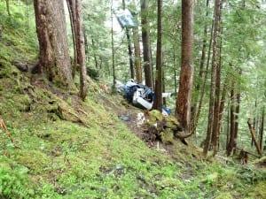 Beaver crash PSG 1