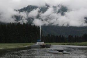 Varsano and Smets' catamaran sailboat