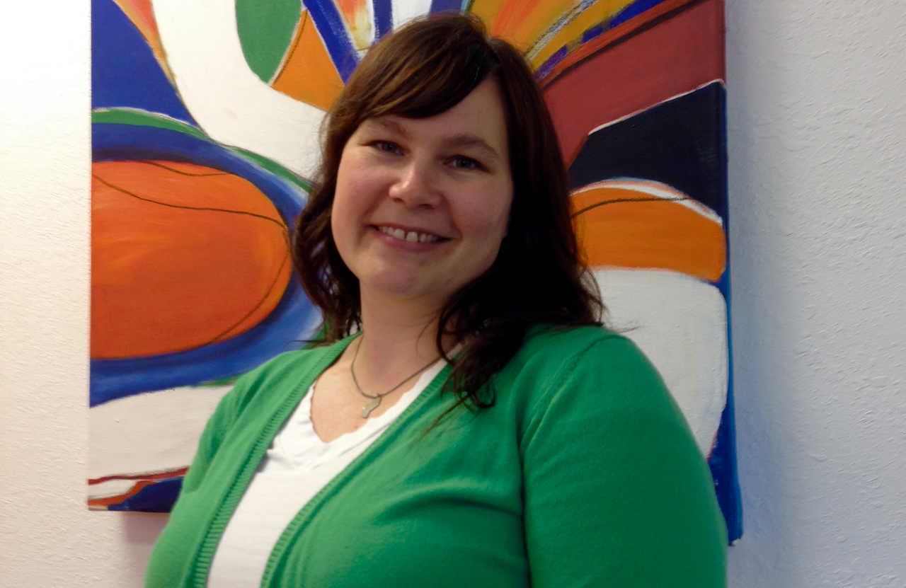 Mara Lutomski joined the Petersburg School Board in April. Photo/Angela Denning