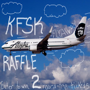Support KFSK by purchasing Fly-Away Raffle Tickets.  Click image for information.