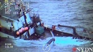 Kupreanof sinking