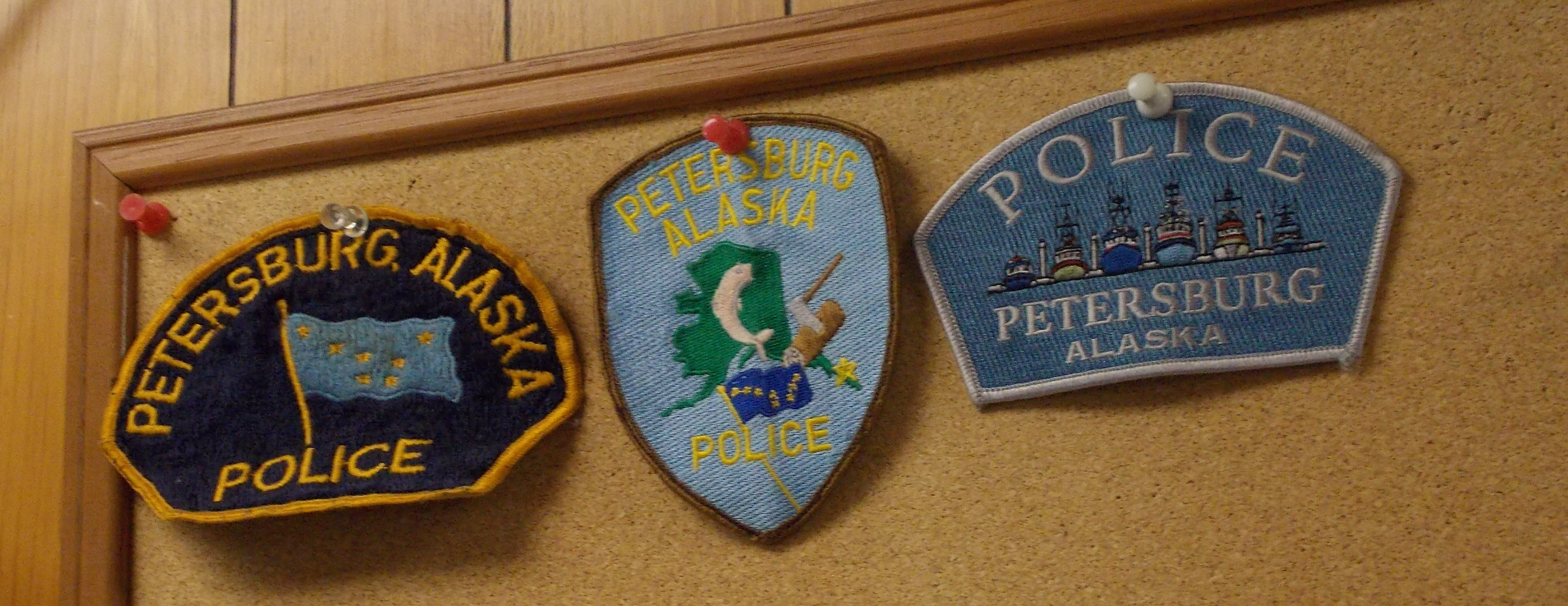 police dept patches