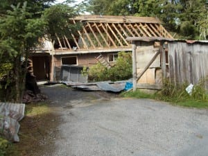 Homeowners Karen Ellingstad and Fred Triem took down the home at 1011 Wrangell Avenue in 2014.
