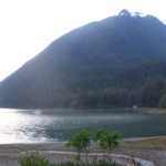 Thomas Bay near the U.S. Forest Service Cascade Creek cabin (KFSK file photo)