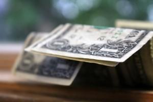 dollar bills closeup