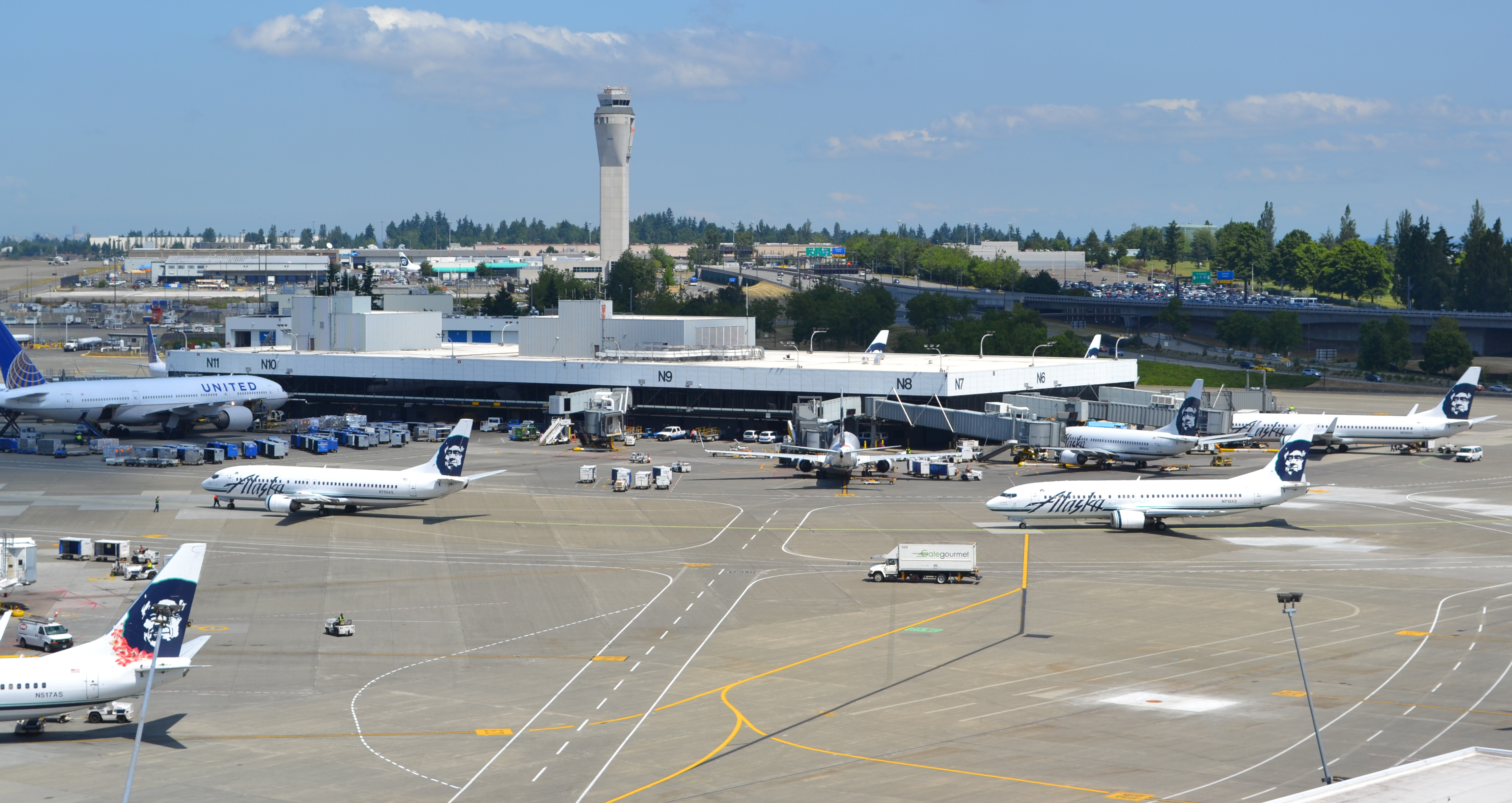 changes on tap for alaska airlines at seattle airport
