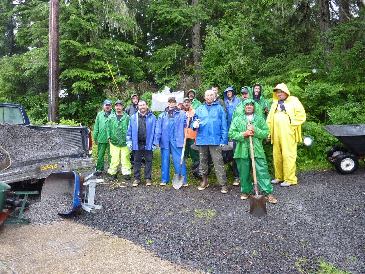 Ocean Beauty workers upgrade two Petersburg trails