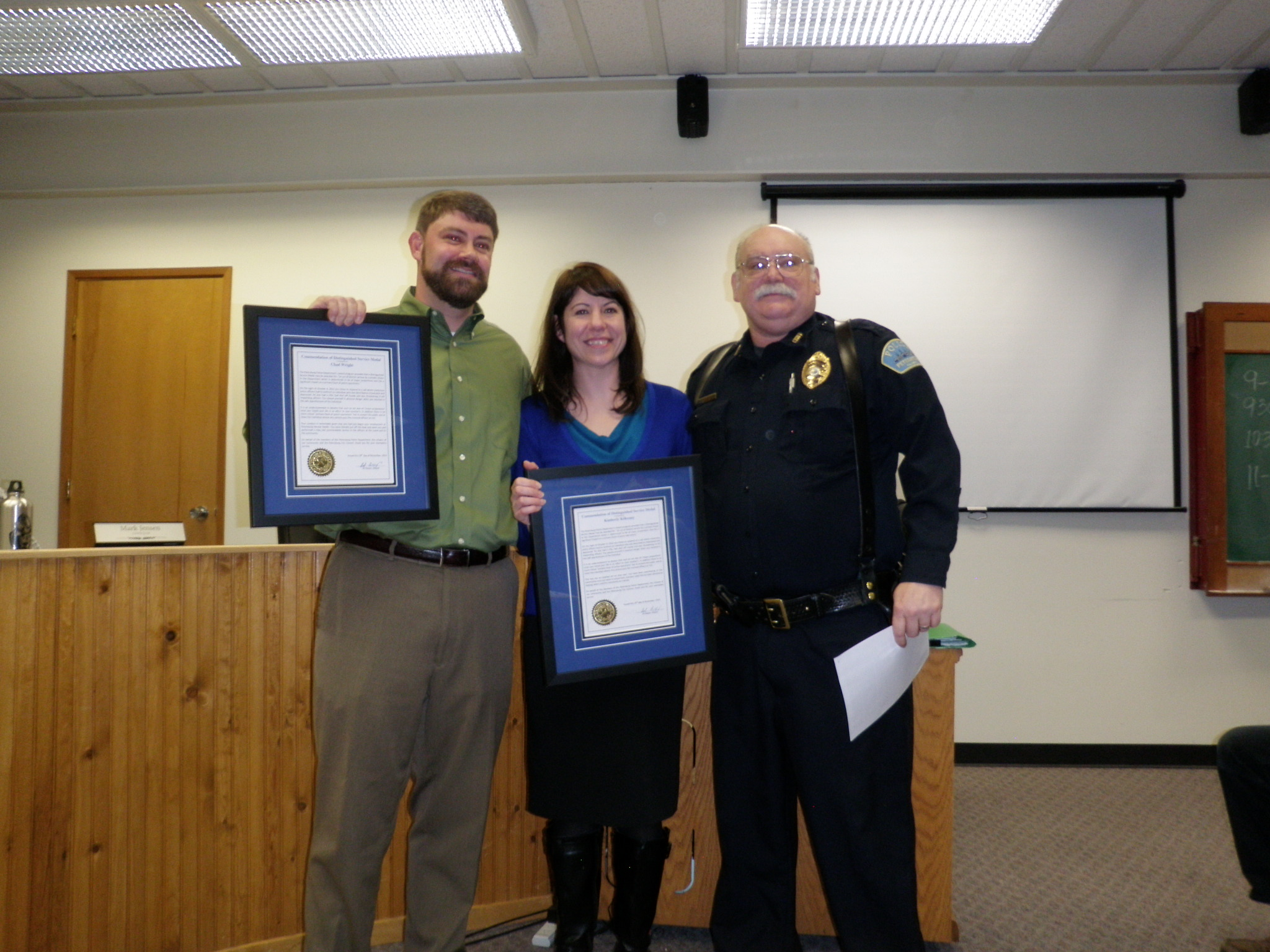 City honors Mental Health workers