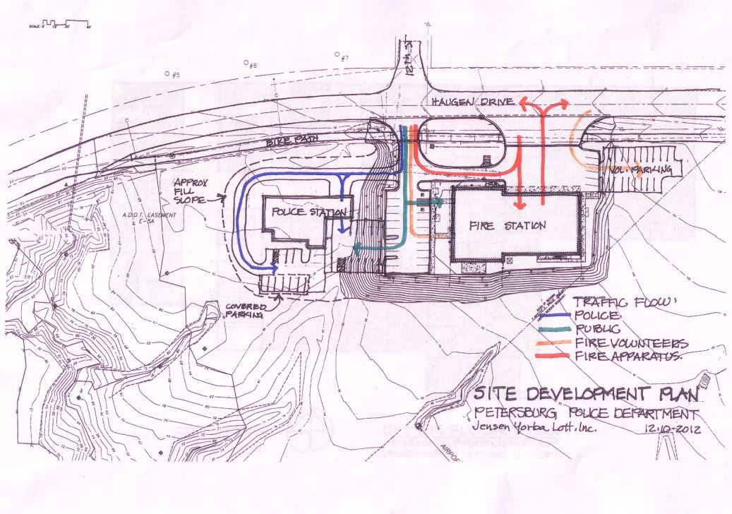 Local officials discuss police station site, design, cost