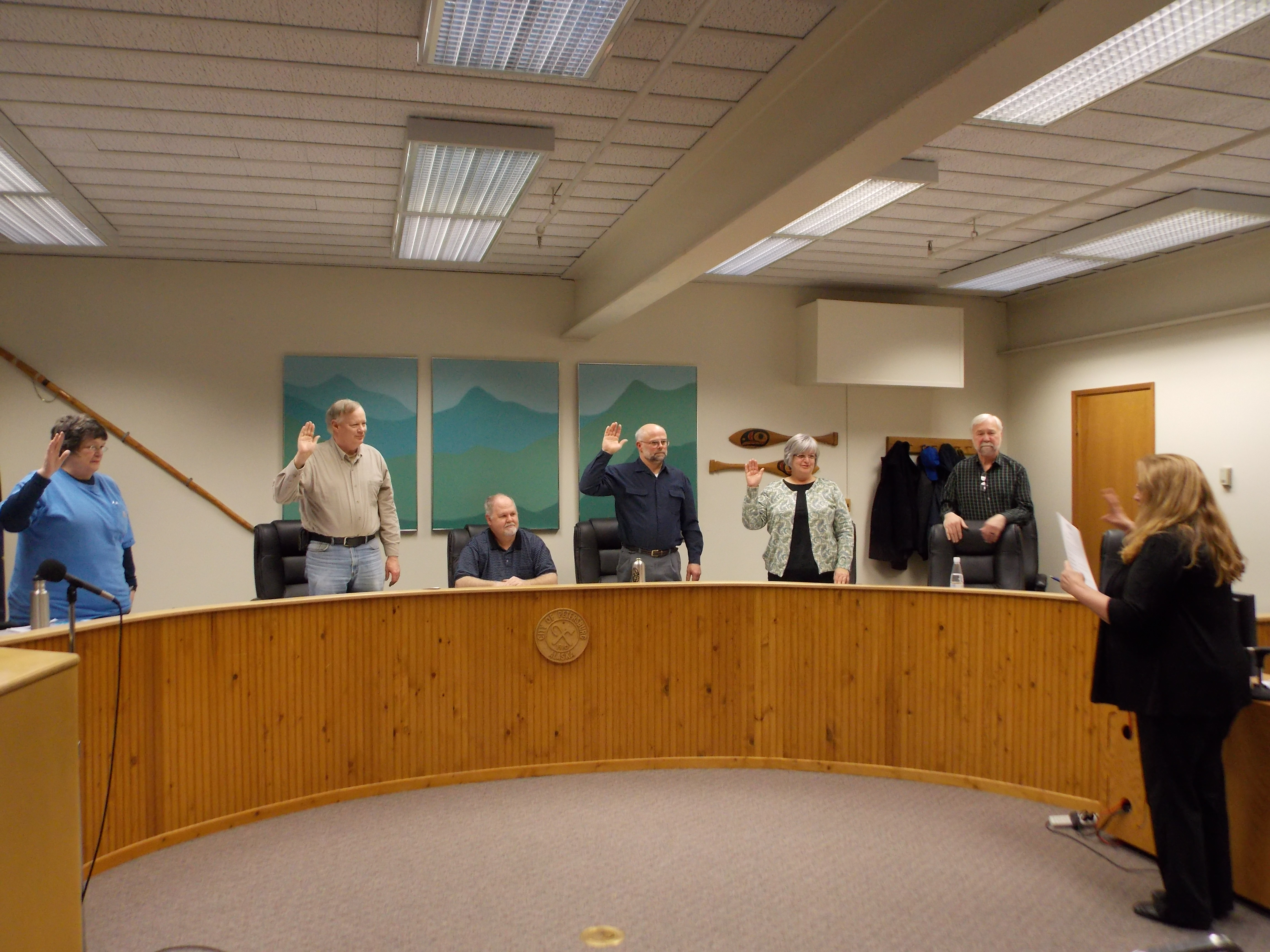 Petersburg Borough Assembly holds first meeting