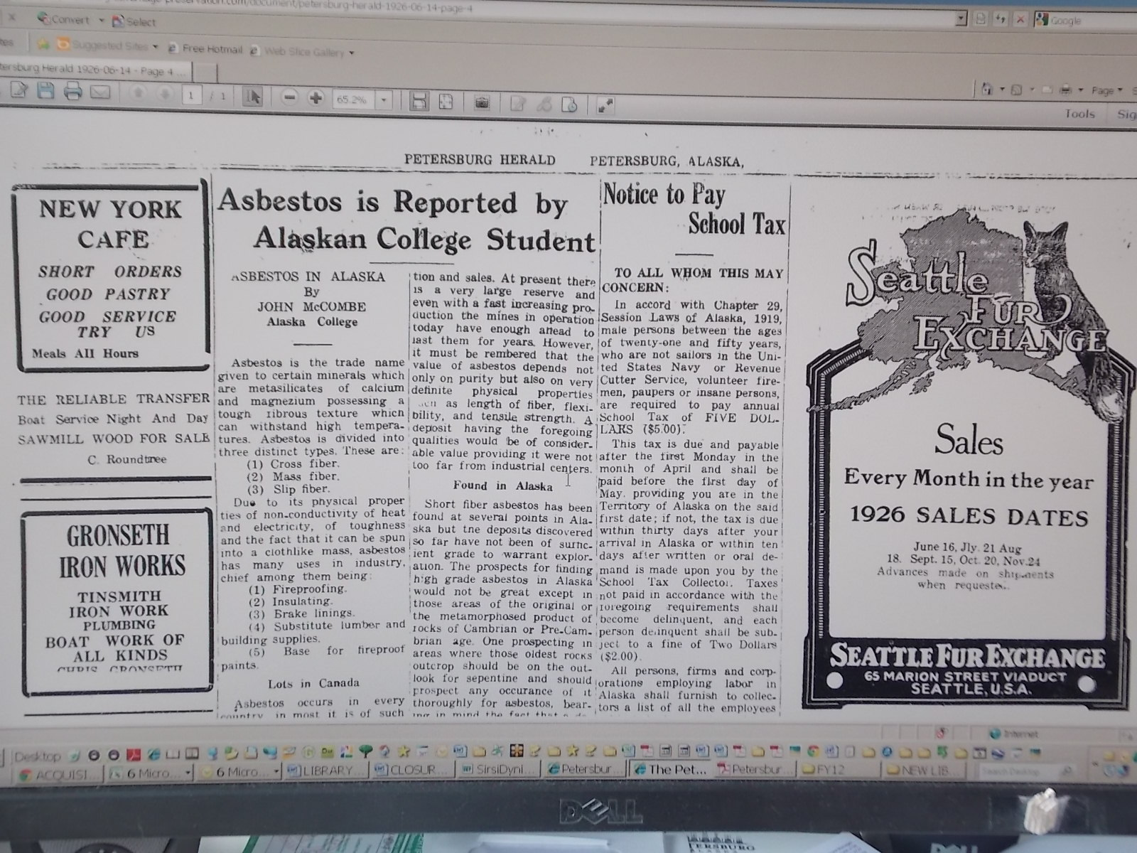 Library puts historic newspaper archive online