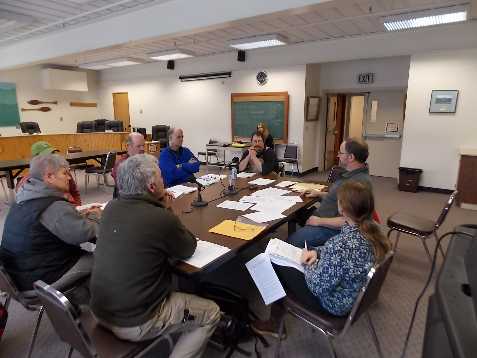 Ad hoc committee wrestles with otters