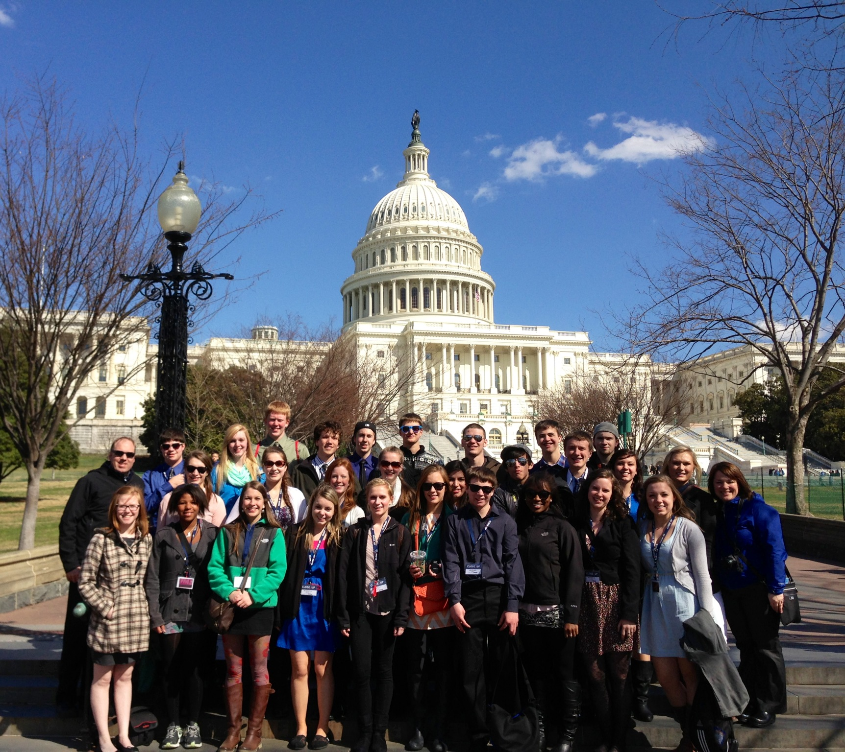 Local students see DC 'Close-Up'