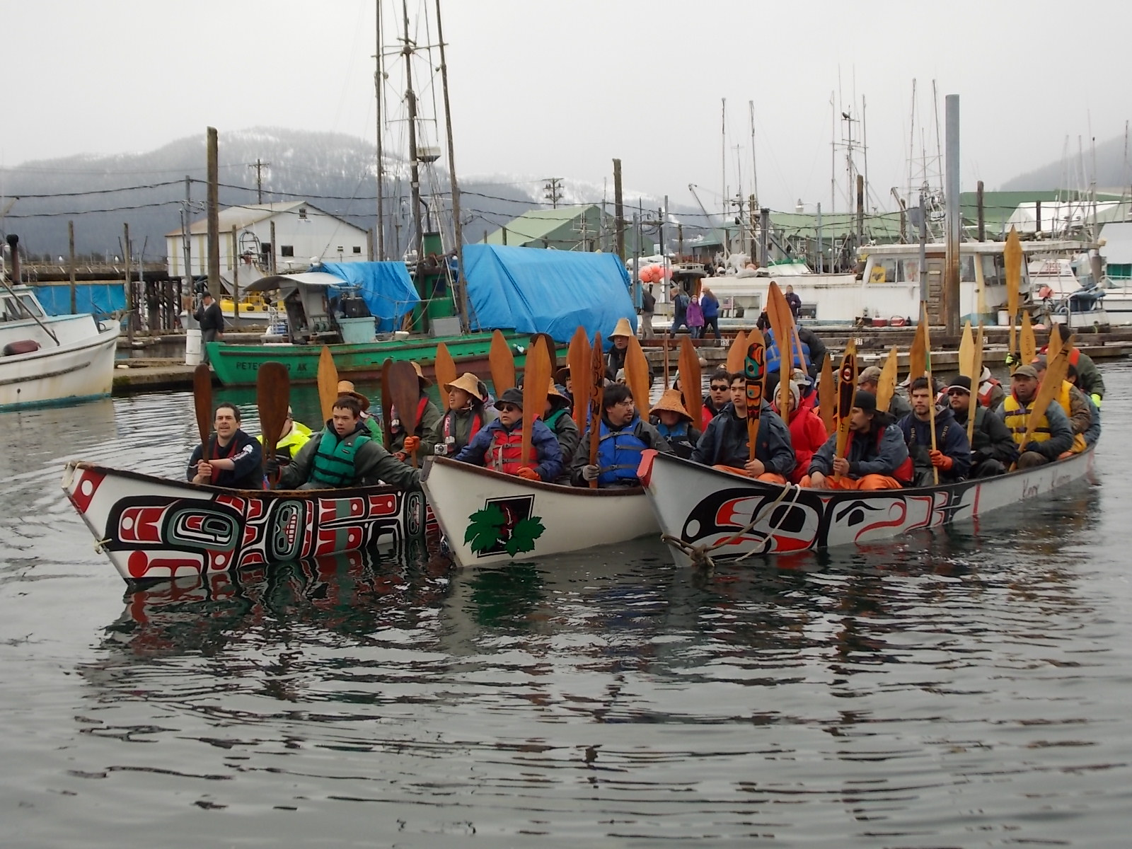 Canoe voyage helps build excitment for upcoming celebration