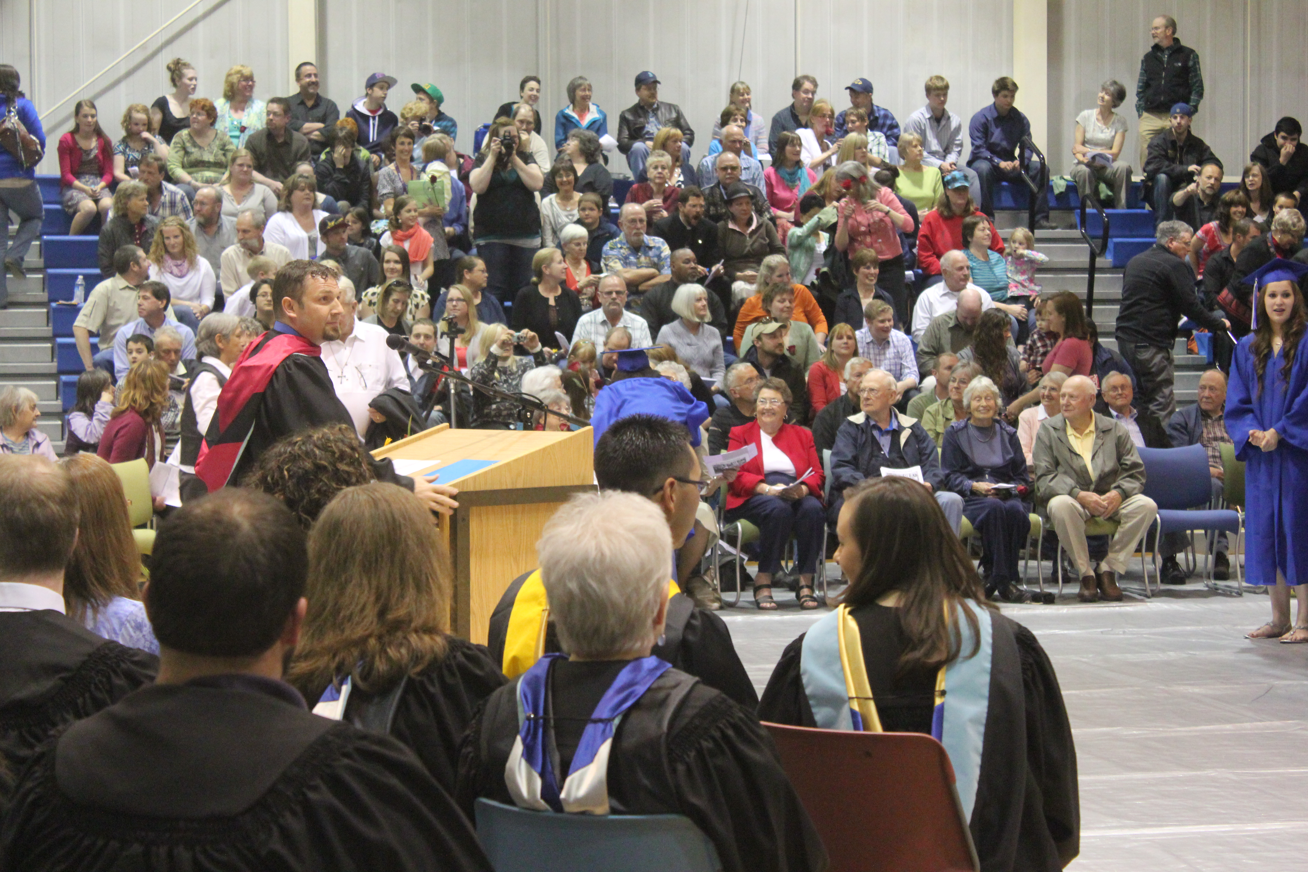 Celebration, remembrance at Petersburg's class of 2013 graduation