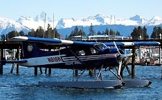 One dead, six survive float plane crash near Petersburg