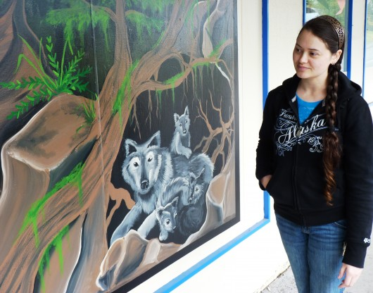 Petersburg muralist finishes latest work