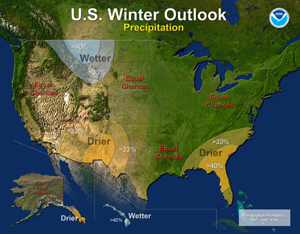 Cold and dry outlook for SE winter