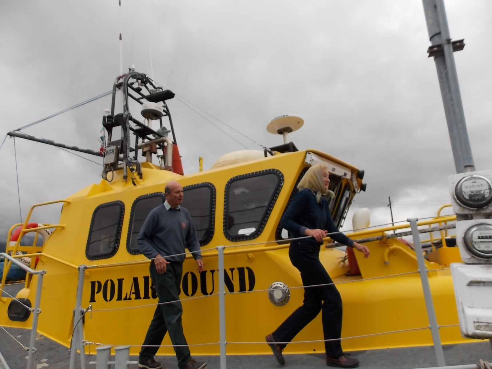 Northwest passage voyagers complete journey back to UK