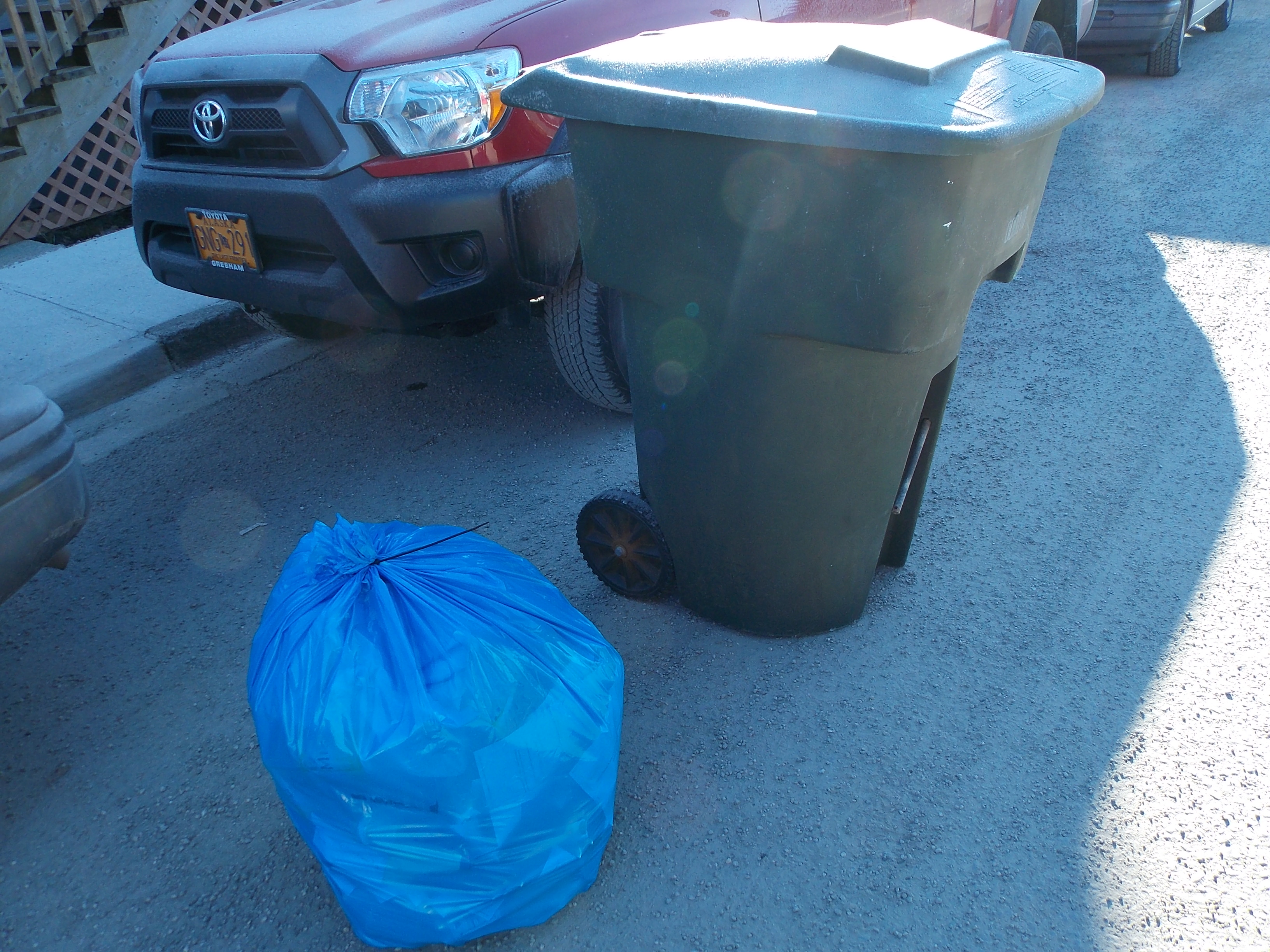 Expanded curbside recycling going well in first week
