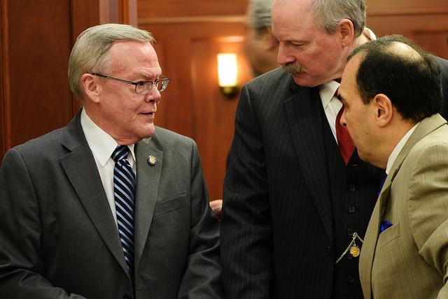 Senator Egan expects education, gasline bill decisions in final weeks