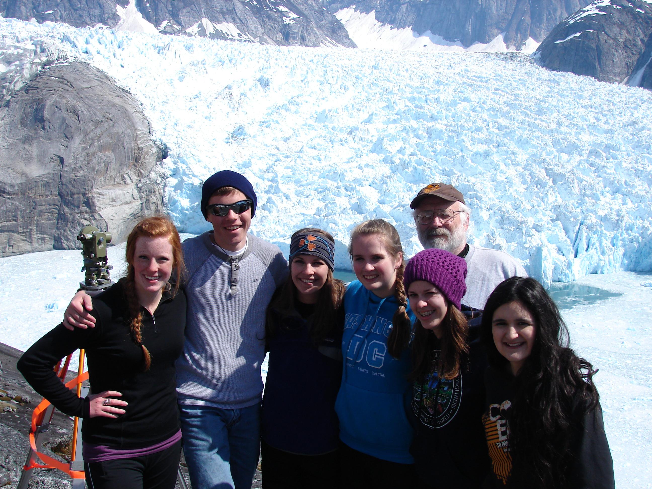 Students compute LeConte Glacier position
