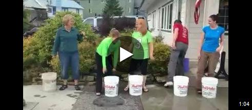 The Ice Bucket Challenge splashes into Petersburg
