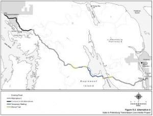 From the Kake to Petersburg transmission line intertie draft EIS