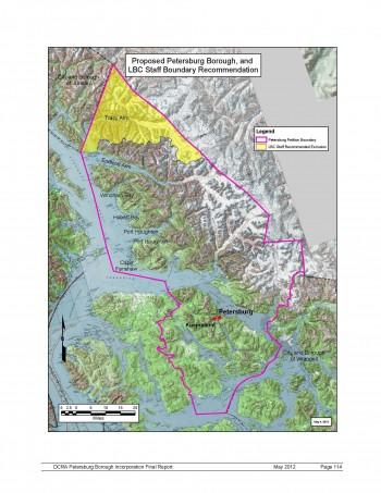 Alaska Supreme Court to hear Juneau v. Petersburg boundary dispute