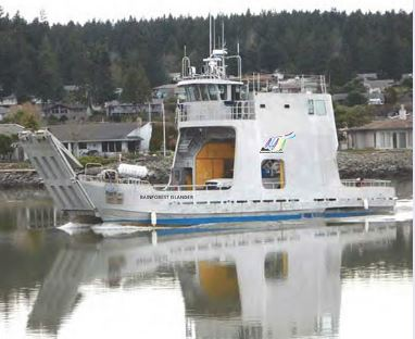 The Rainforest Islander is scheduled to link South Mitkof Island, Wrangell and Pettersburg starting in mid-July. (Photo courtesy Rainforest Islands Ferry)