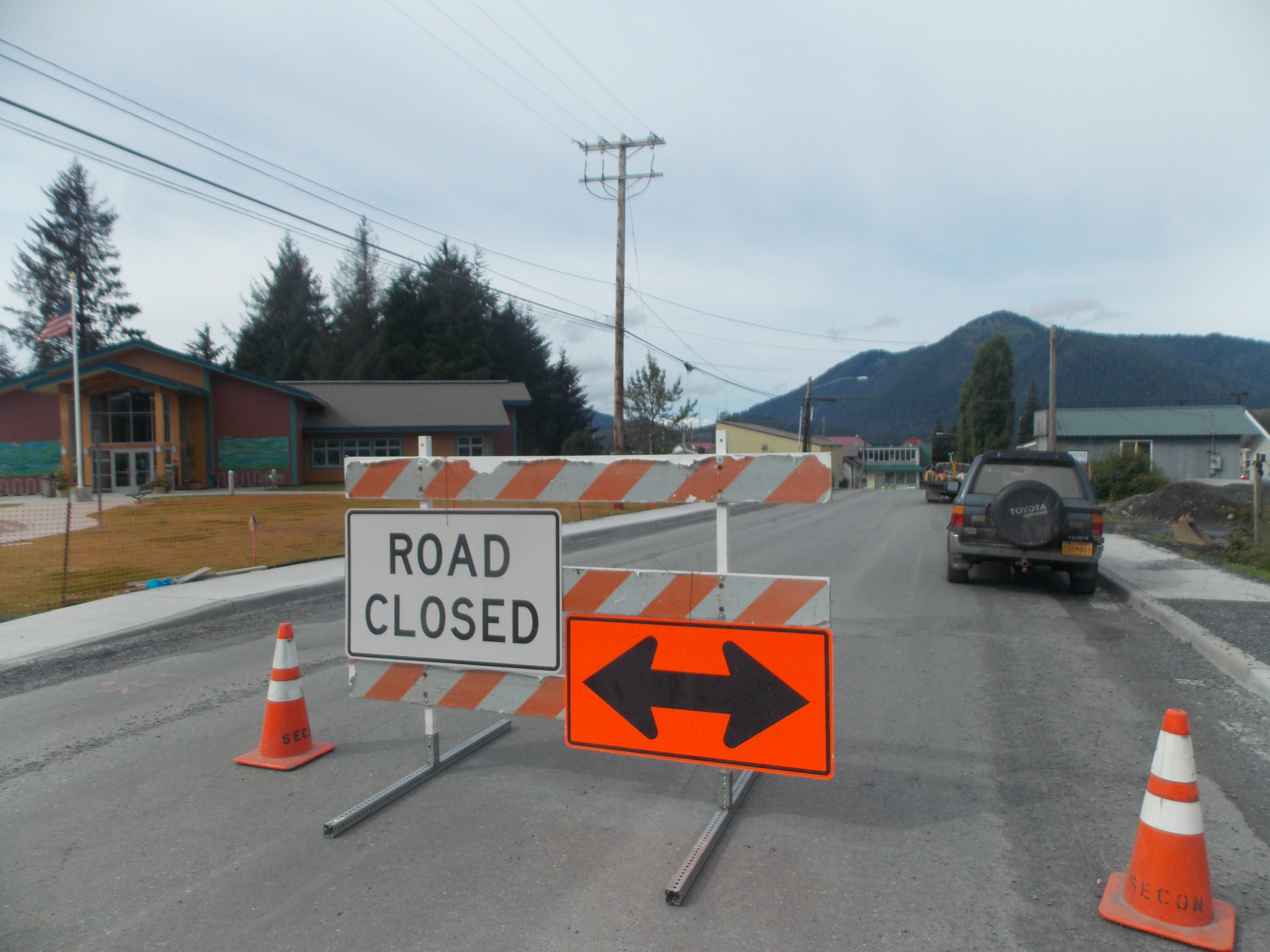 Major state road reconstruction continues in Petersburg