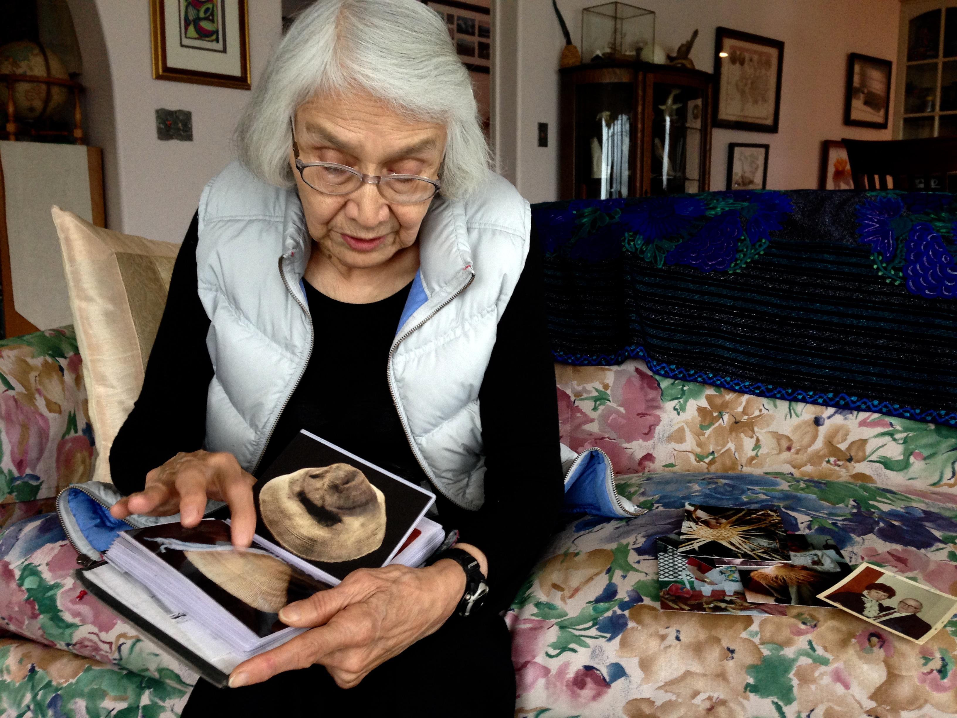 Haida master weaver Delores Churchill shares her story