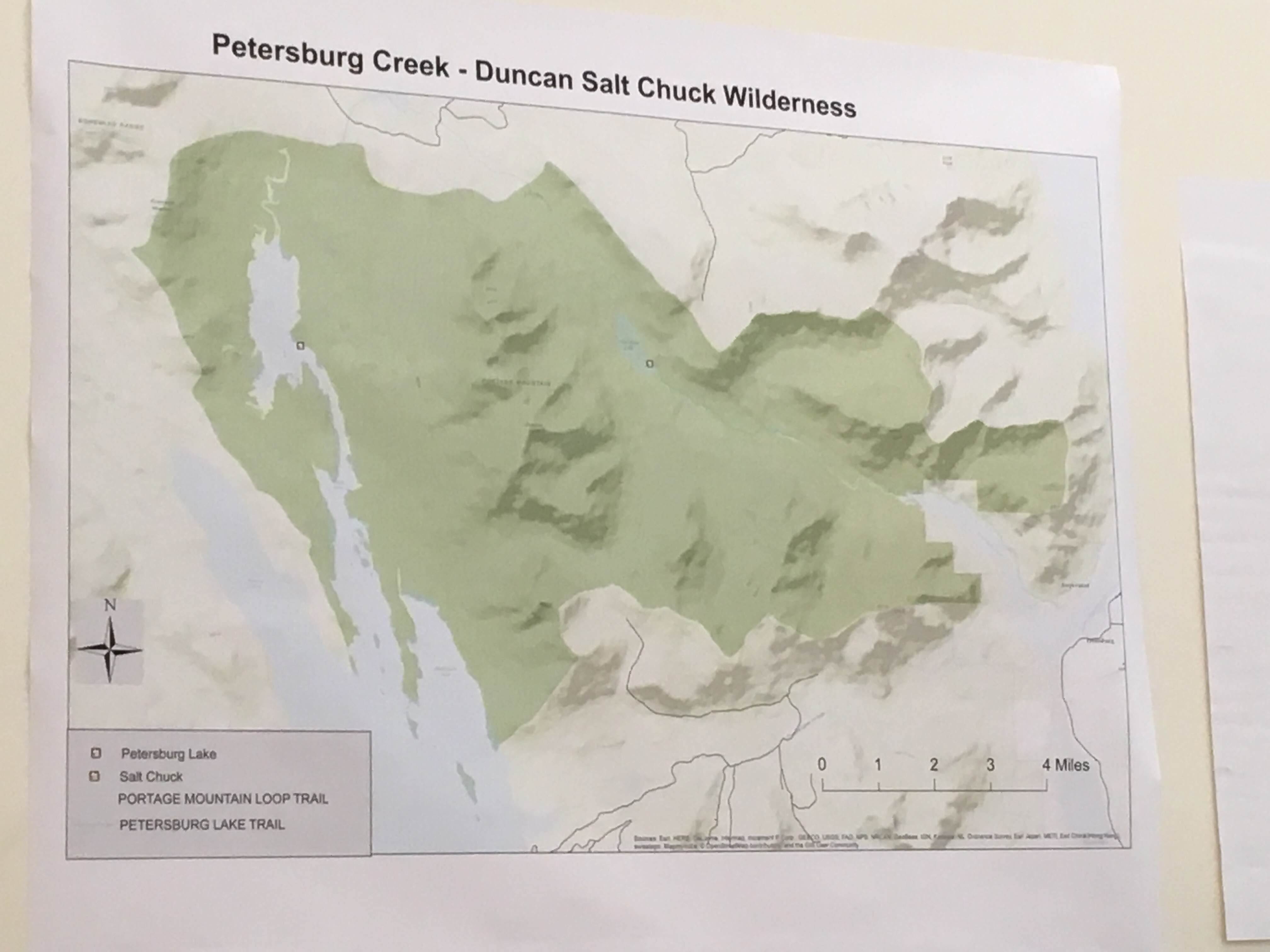 Petersburg community joins discussion on local wilderness area