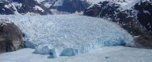 Photo courtesy of Petersburg High School LeConte Glacier survey
