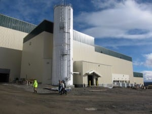 The processing plant at Imperial Metals' Red Chris Mine (Photo from imperialmetals.com)