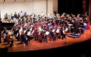 The All-State Band/Photo courtesy of Matt Lenhard