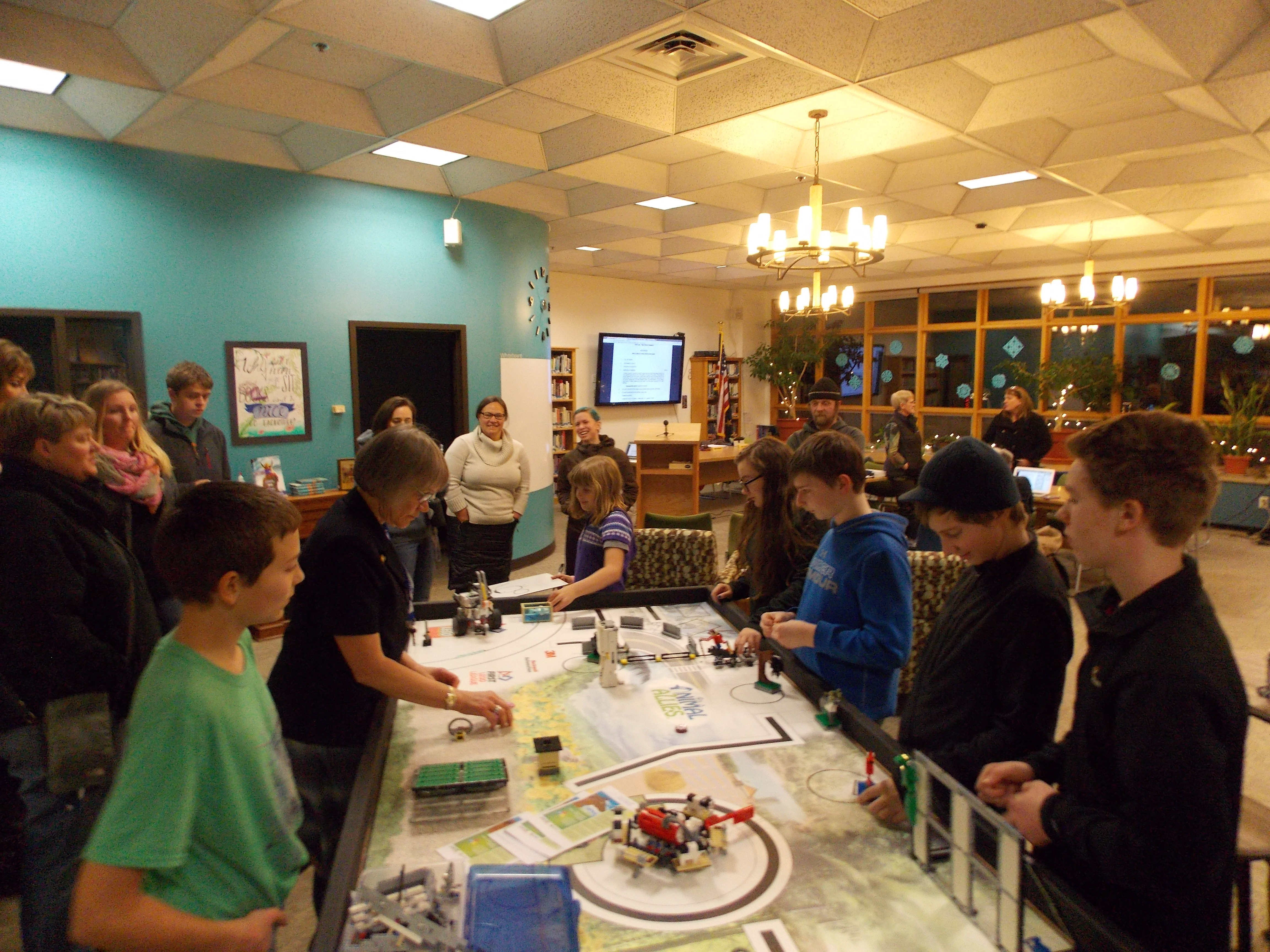Petersburg Middle School Robotics Team Back From First Competition