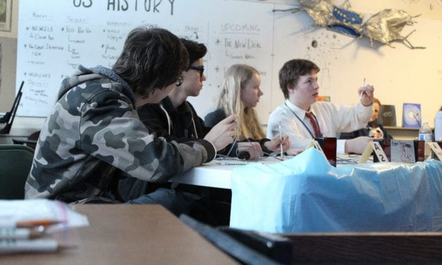 PHS science bowl team's research takes 4th in statewide competition