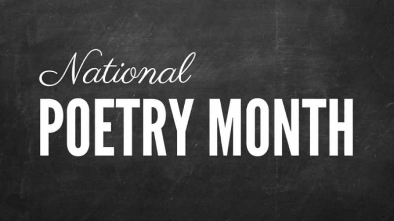 KFSK's Poetry Celebration – April is National Poetry Month