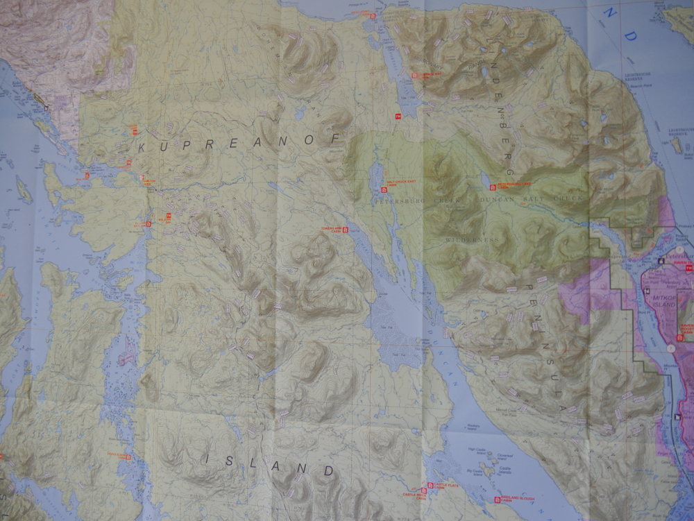 Forest Service releases new Petersburg area map - KFSK on ca map, w.va map, al map, efis map, ne map, wa map, eastern oh map, nv map, ohio map, mn map, nh map, md map, ks map, time zone map, co map, ae map, wy map, mo map, ri map, sd map,