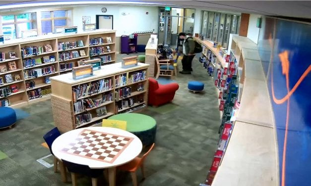 [VIDEO] Peterburg Police requesting public assistance in identifying the individual responsible for the theft from library
