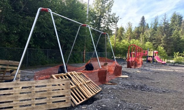 Petersburg's elementary school playground gets upgrades