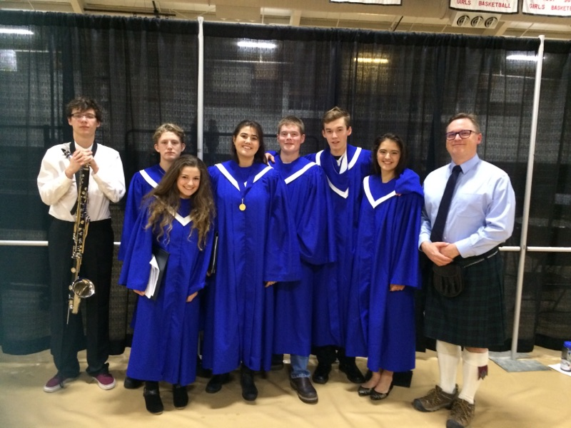 PHS honors music students participate in regional festival