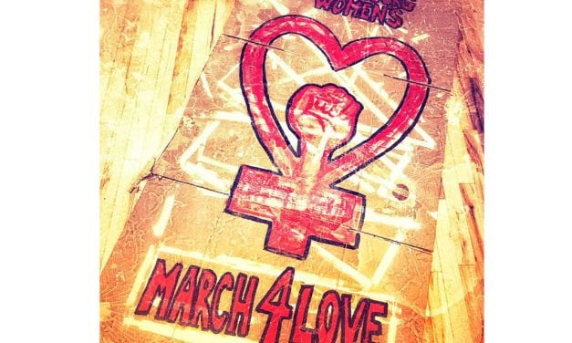 Commentary by Erin Kandoll: Women's March For Love This Saturday, 9am