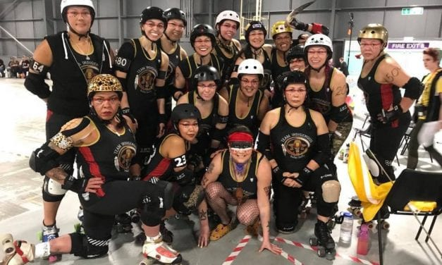 Indigenous skater from Alaska reflects on roller derby worlds