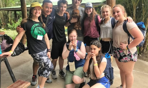 PHS Spanish students return from Costa Rica trip