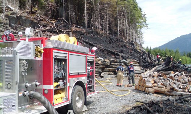 Crews tackle small wildfire in Ketchikan