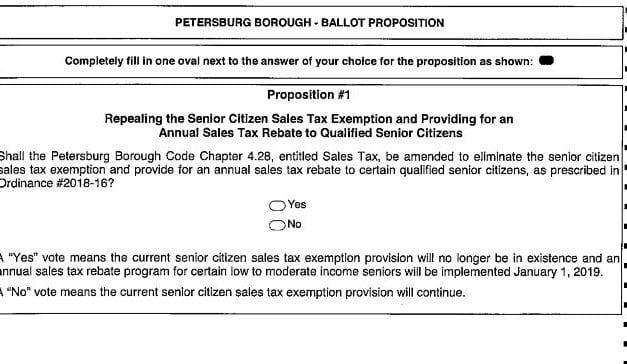Borough Sales Tax Exemption Forum