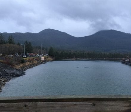 Prep work for Shoemaker Bay in Wrangell wrapping up